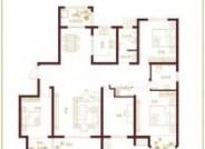 东腾南郡四居户型图